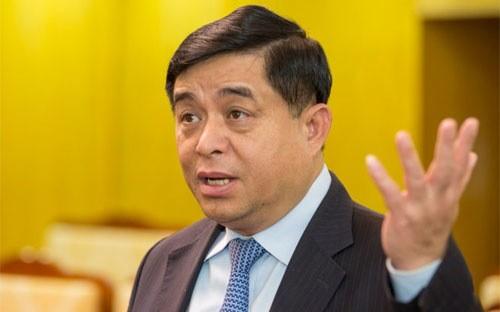 Ông Nguyễn Chí Dũng, Bộ trưởng Bộ Kế hoạch và Đầu tư.