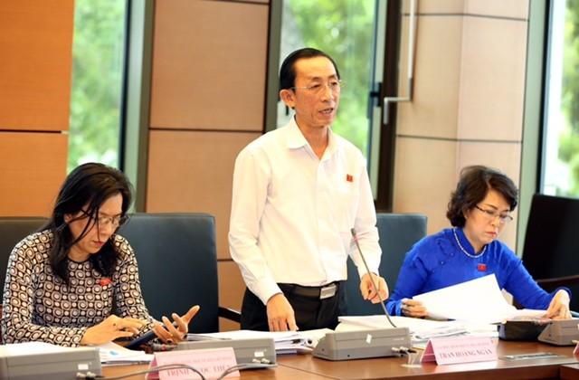 Đại biểu Trần Hoàng Ngân. Ảnh: VGP