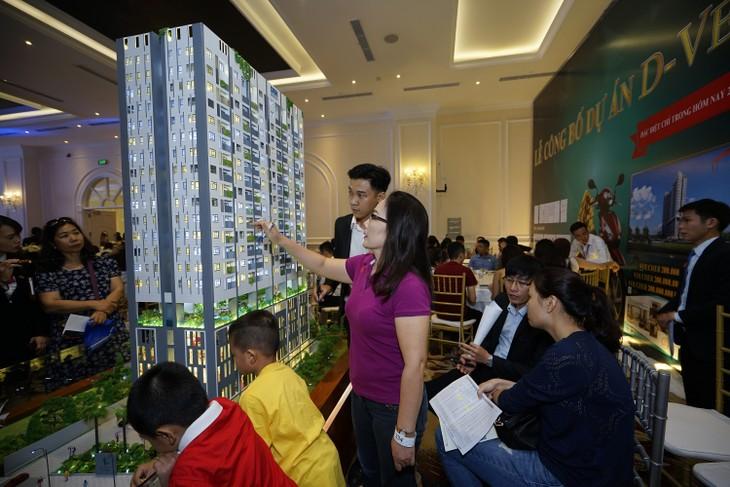 Nhiều căn hộ đã được khách hàng đặt mua ngay sau lễ công bố.