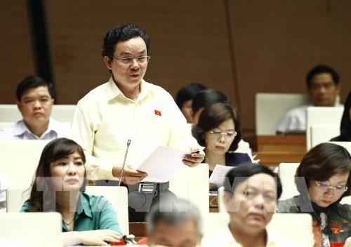 Đại biểu Quốc hội Thành phố Hà Nội Hoàng Văn Cường. Ảnh: TTXVN