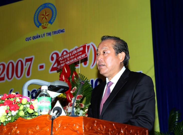 Phó Thủ tướng Thường trực Chính phủ Trương Hoà Bình phát biểu tại Lễ kỷ niệm - Ảnh: VGP