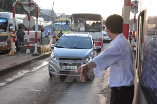 Gần 4.500 xe sẽ được miễn, giảm giá vé qua trạm BOT Tam Kỳ (Quảng Nam). Ảnh minh họa: TTXVN