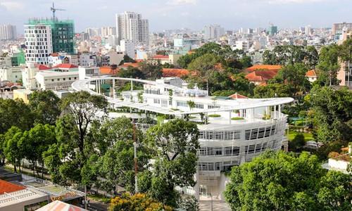 Cung văn hóa thiếu nhi thành phố rộng 40.000m2 sẽ nằm ở vị trí trung tâm Khu đô thị mới Thủ Thiêm, quận 2.