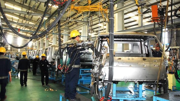 Sản xuất công nghiệp quý 1 tăng trưởng mạnh
