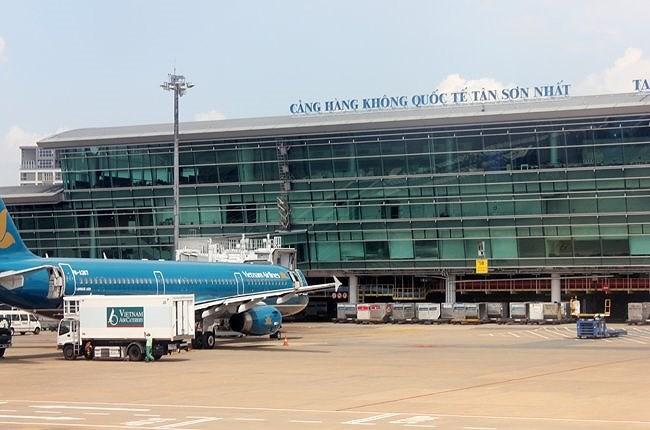 Cảng hàng không quốc tế Tân Sơn Nhất. Ảnh Internet
