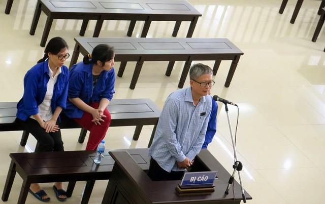 Bị cáo Đinh Mạnh Thắng tại tòa phúc thẩm.