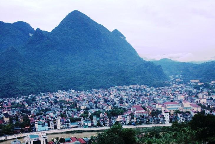 Một góc thành phố Hà Giang