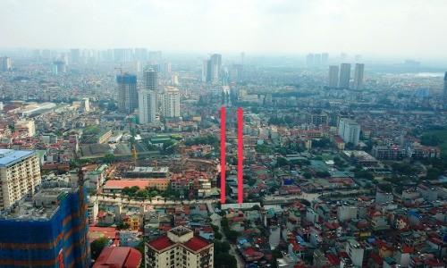 Dự án đường Đầm Hồng - Giáp Bát chạy qua đường Giải Phóng nối với đường Kim Đồng, nơi dự kiến làm hầm chui đến nay chưa được giải phóng mặt bằng.