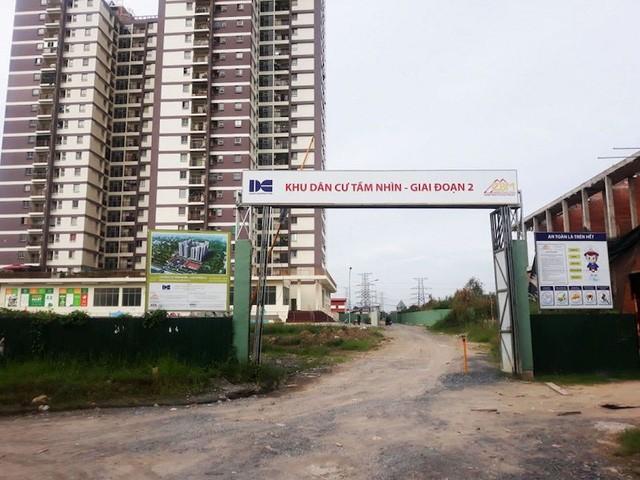 Khu dân cư Tầm Nhìn với tên thương mại là dự án Vision do Công ty TNHH Dacin Việt Nam Tân Tạo làm chủ đầu tư