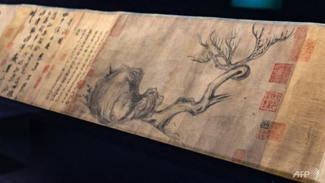 Bức tranh dài tới 185,5cm và có giá gần 1,4 nghìn tỷ đồng. (Nguồn: glbnews.com)
