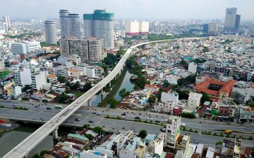 Dự án Metro số 1 từ Bến Thành - Suối Tiên.