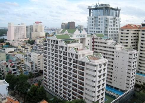 Thị trường căn hộ dịch vụ cho thuê khu trung tâm TP HCM.