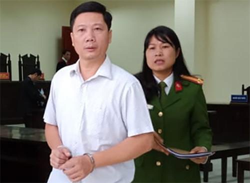 Bị cáo tại phiên xử sơ thẩm