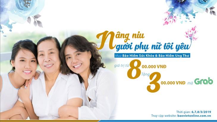 """""""Nâng niu người phụ nữ tôi yêu"""" cùng Bảo hiểm Bảo Việt"""