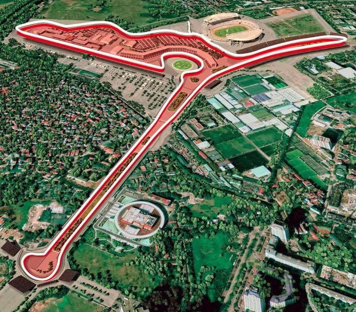 Phối cảnh đường đua F1