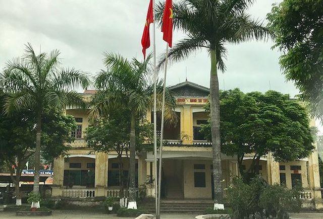Trụ sở UBND xã Tiến Xuân (Thạch Thất) cũng nằm trong diện phải thu hồi để làm dự án!