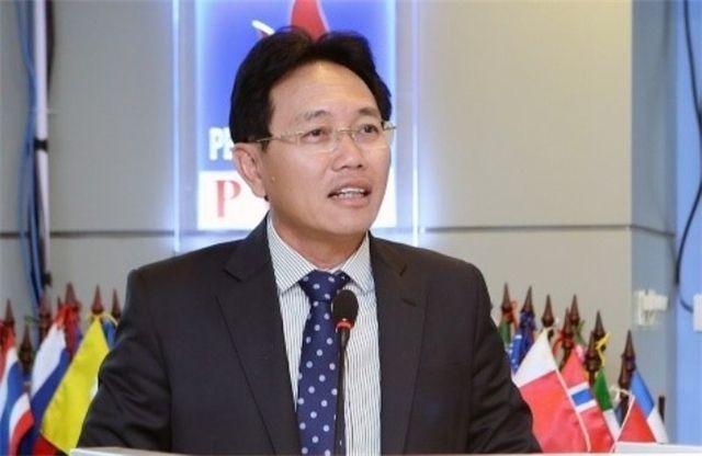 Ông Nguyễn Vũ Trường Sơn trong ngày đầu nhậm chức tại PVN