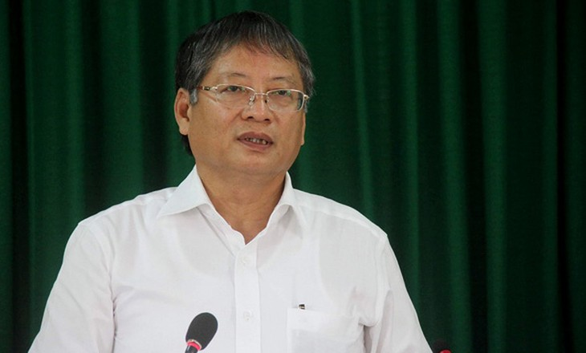 Ông Nguyễn Ngọc Tuấn khi còn đang đương chức phó chủ tịch UBND TP Đà Nẵng