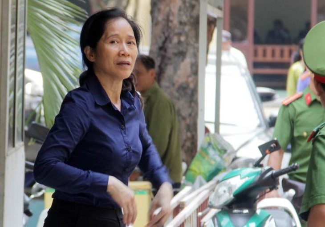 Bị cáo Oanh lãnh 8 năm tù.