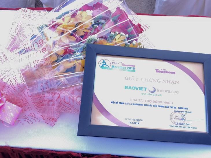 Bảo hiểm Bảo Việt là nhà tài trợ bảo hiểm duy nhất của giải chạy Báo Tiền phong