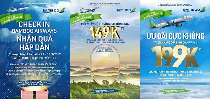 Các chương trình bán vé siêu khuyến mãi của Bamboo Airways
