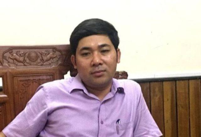 Ông Lê Văn Tuyên, nguyên Giám đốc Ban quản lý dự án huyện Hà Trung.
