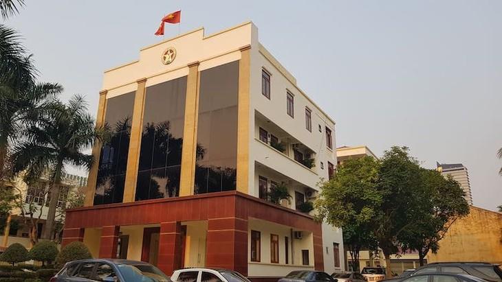 Trụ sở thanh tra tỉnh Thanh Hóa.