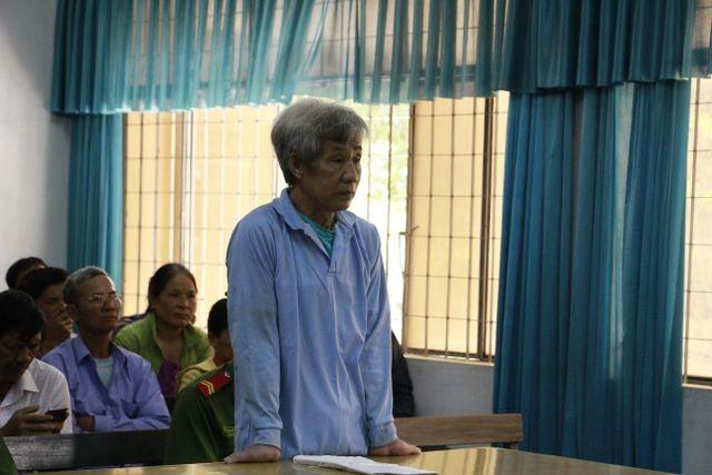 Bị cáo Huỳnh Bê tại phiên tòa