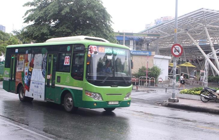 TP.HCM tổ chức đấu giá quảng cáo trên xe buýt lần thứ 5.