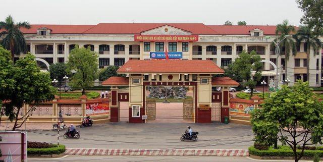 Trụ sở UBND huyện Vĩnh Tường, Vĩnh Phúc.
