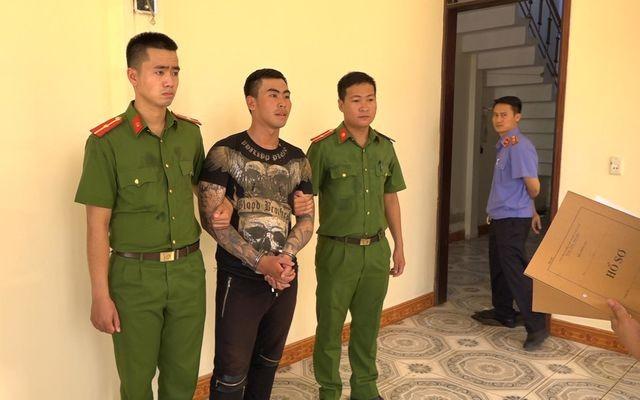 Nguyễn Vĩnh Long bị tạm giữ.