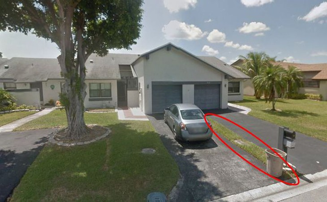 Dải cỏ nằm giữa 2 căn nhà được Kerville Holness đấu giá 7200 bảng Anh