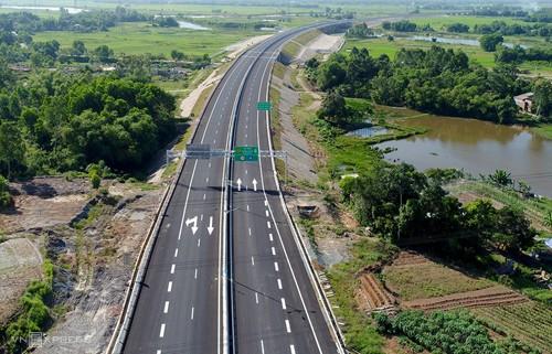 Cao tốc Đà Nẵng - Quảng Ngãi sẽ được kết nối vào tuyến cao tốc Bắc Nam.