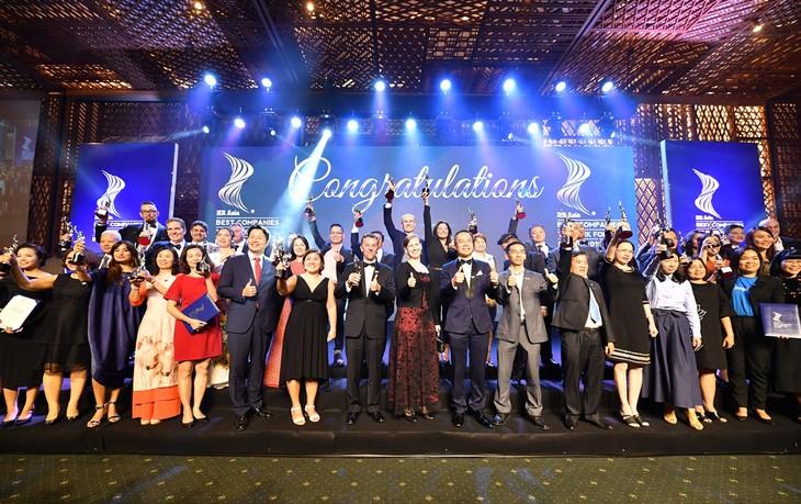 50 công ty nhận giải Nơi làm việc tốt nhất châu Á 2019