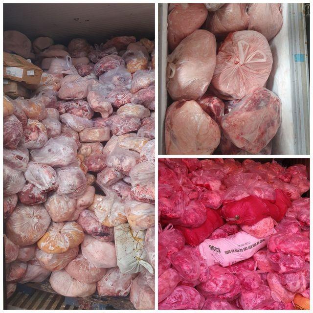 Đồng Nai: 40 tấn thịt đông lạnh hôi thối suýt bị làm giò chả nhiễm dịch tả lợn châu Phi