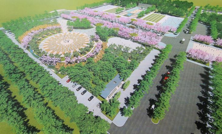 Phối cảnh dự án Công viên Hữu nghị tỉnh Bắc Ninh. Ảnh chỉ mang tính minh họa. Nguồn Internet