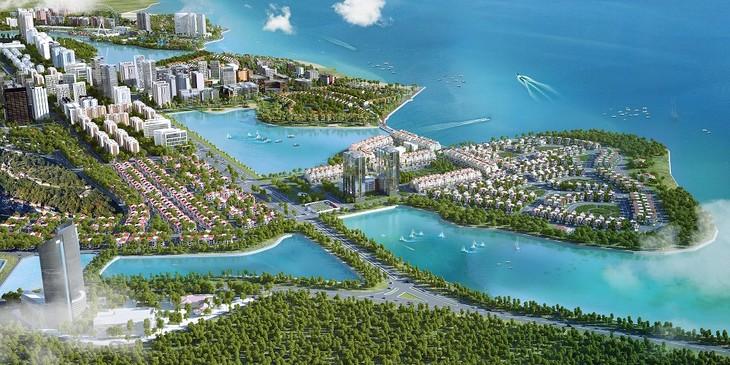 Đại đô thị Halong Marina được xây dựng và phát triển trên tổng quy mô 248 ha, trải dài trên 3,8 km đường biển, tổng vốn đầu tư hơn 2 tỷ USD