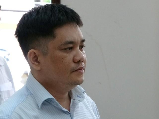 Nguyễn Tiến Lãm tại phiên xét xử
