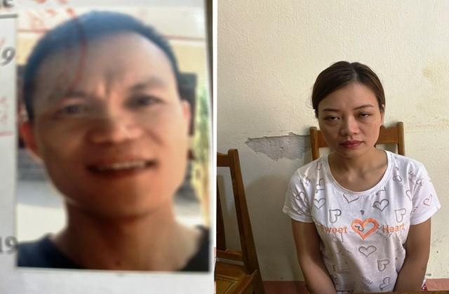 Vợ chồng Trịnh Anh Vân Lê Thị Hương.