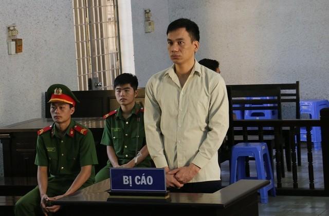 Bị cáo Phạm Thanh Sơn tại phiên tòa