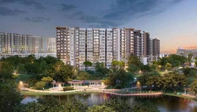 Dự án Khu liên hợp thể dục thể thao và dân cư Tân Thắng của Gamuda Land.
