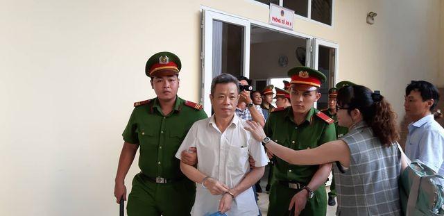 Bị cáo Nguyễn Hồng Khanh.