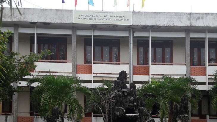 Trụ sở Ban Quản lý dự án đầu tư xây dựng các công trình giao thông tỉnh Kon Tum
