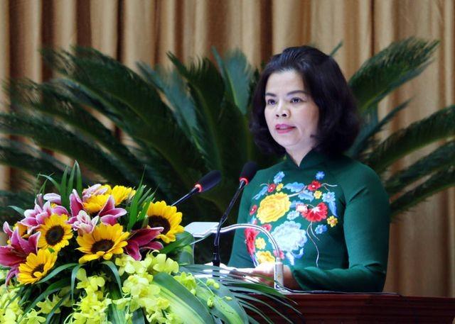 Bà Nguyễn Hương Giang (Ảnh: Báo Bắc Ninh).