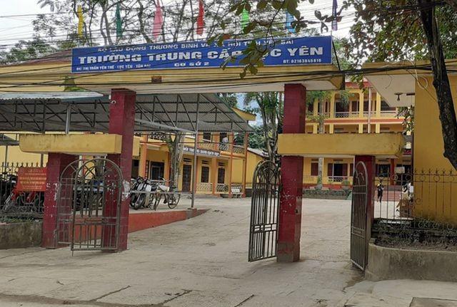 Trường Trung cấp Lục Yên.