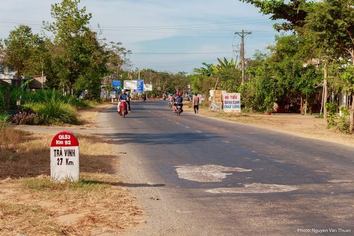 Quốc lộ 53 đoạn qua tỉnh Trà Vinh. Ảnh chỉ mang tính minh họa. Nguồn Internet