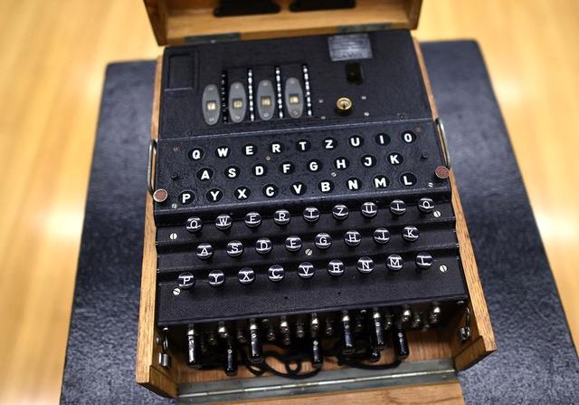 Một cỗ máy mật mã được Đức Quốc xã sử dụng để tạo mã liên lạc quân sự