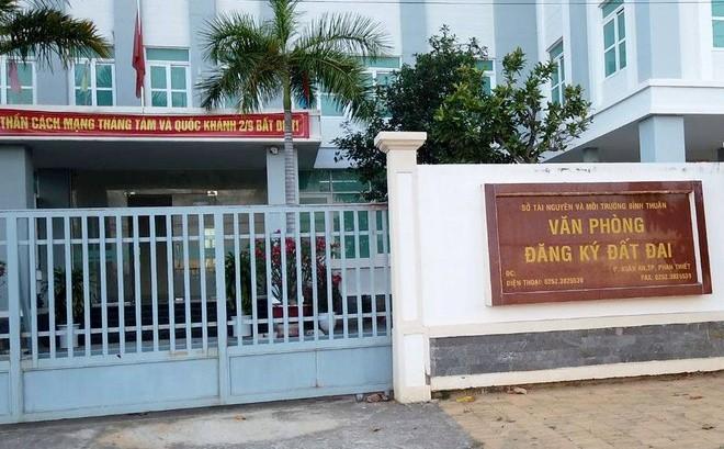 Văn phòng đăng ký đất đai Bình Thuận