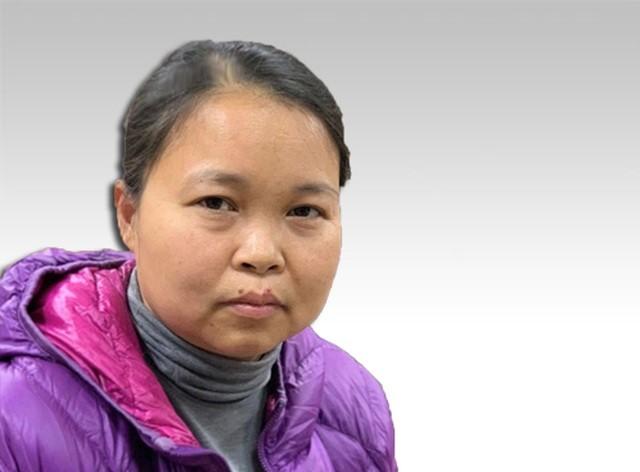 Bị can Phạm Thị Thu Hường.