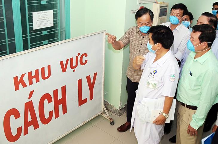 Khu cách ly người bệnh tại Bệnh viện Nhiệt đới Khánh Hòa, ngày 2/2.